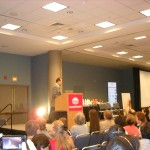 Sunrider Dr Tei Fu Chen speaking at Convention Diana Walker photo www.diana2.com