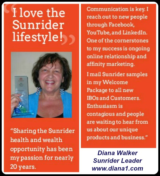 Diana Walker Sunrider Business Leader Convention 2016