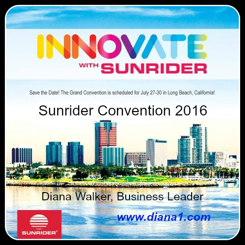 Diana Walker Sunrider Business Leader Convention 2016-2