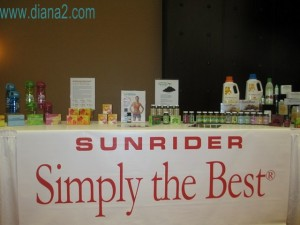 Sunrider Simply the Best Canada Diana Walker Healthy Living