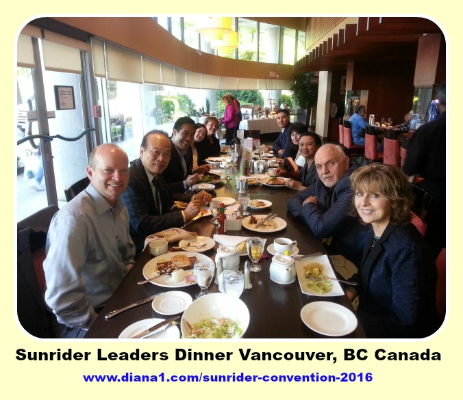 Sunrider Convention 2016 Sunrider Leaders Vancouver Canada