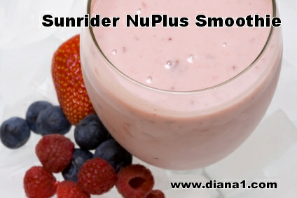Sunrider Healthy Chinese NuPlus Smoothie www.diana1.com