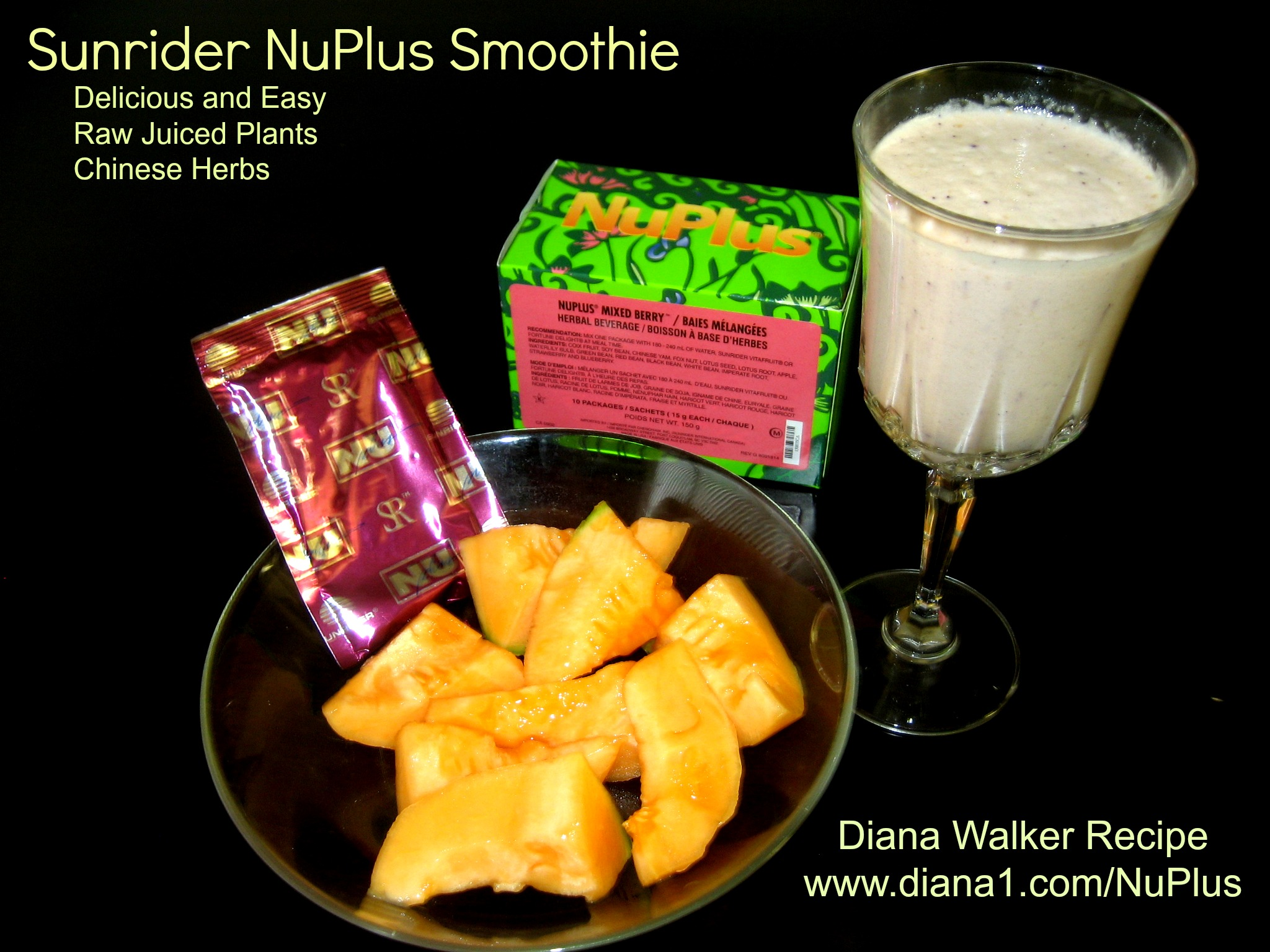 Nuplus from sunrider is raw food with health benefits