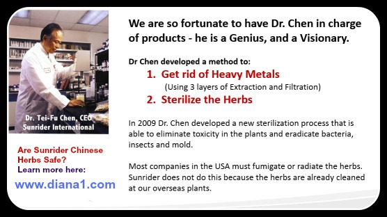 Are Sunrider Chinese Herbs Safe Remove Heavy Metals