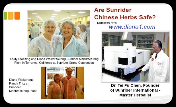 Are Sunrider Chinese Herbs Safe Trudy Stoelting, Diana Walker, Randy Fritz