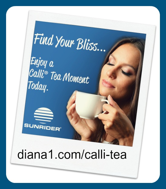 Calli Tea Sunrider Bliss Diana Walker
