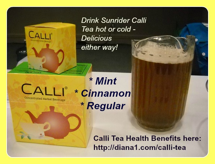 Calli Tea Sunrider Mint Iced 2011 Diana Walker