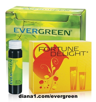 Evergreen diana1.com/evergreen and Fortune Delight are 2 delicious Sunrider beverages made with greens