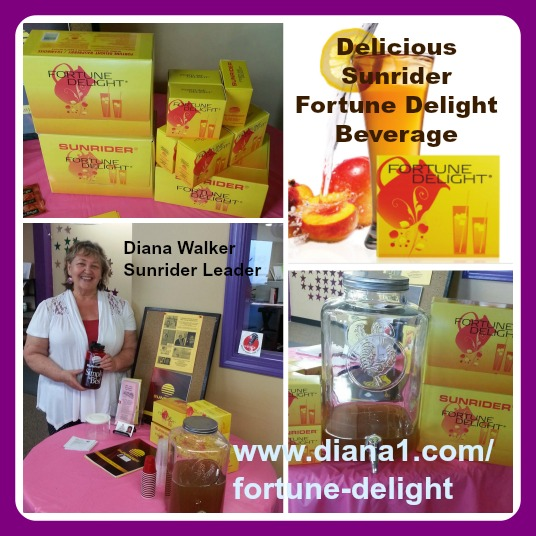 Fortune Delight Sunrider Diana Walker