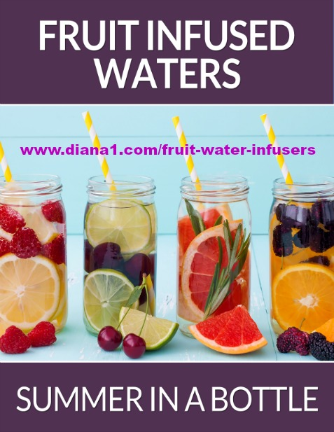Fruit Water Infusers Diana Walker www.diana1.com