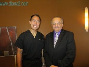 Dr Reuben Chen and Angelo de Fabrizio Sunrider Canada www.diana2.com