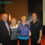 Angelo de Fabrizio, Julie McLewee, Andrea Langer, Dr Reuben Chen Sunrider 2013 www.diana1.com