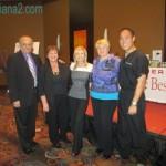 Angelo de Fabrizio, Diana Walker, Julie McLewee, Andrea Langer, Dr Reuben Chen Sunrider Leaders