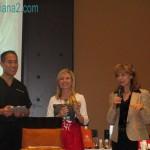 Dr Reuben Chen, Julie McLewee, Sheryl Fitzharris