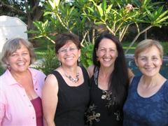 Sunrider Diana Walker, Nory, Goldie, Trudy