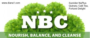NBC-Nourish-Balance-Cleanse-Sunrider Diana Walker