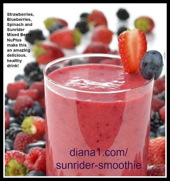 Sunrider Smoothie Recipe NuPlus Mixed Berry Smoothie  www.diana1.com/sunrider-smoothie