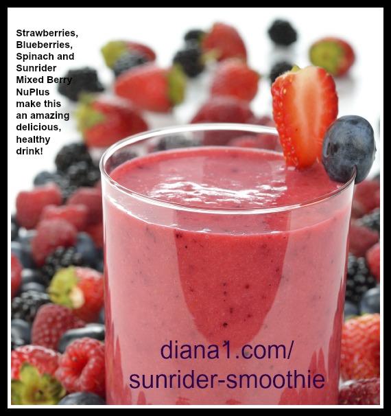 Sunrider Smoothie Recipe NuPlus Mixed Berry Smoothie  www.diana1.com/sunrider-smoothie
