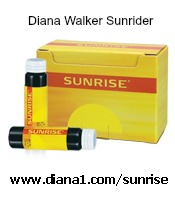 SunRise Vials Diana Walker by Sunrider for Energy and Help with Stress www.diana1.com/sunrise