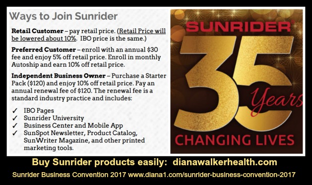 Sunrider Business Convention 2017 Diana Walker