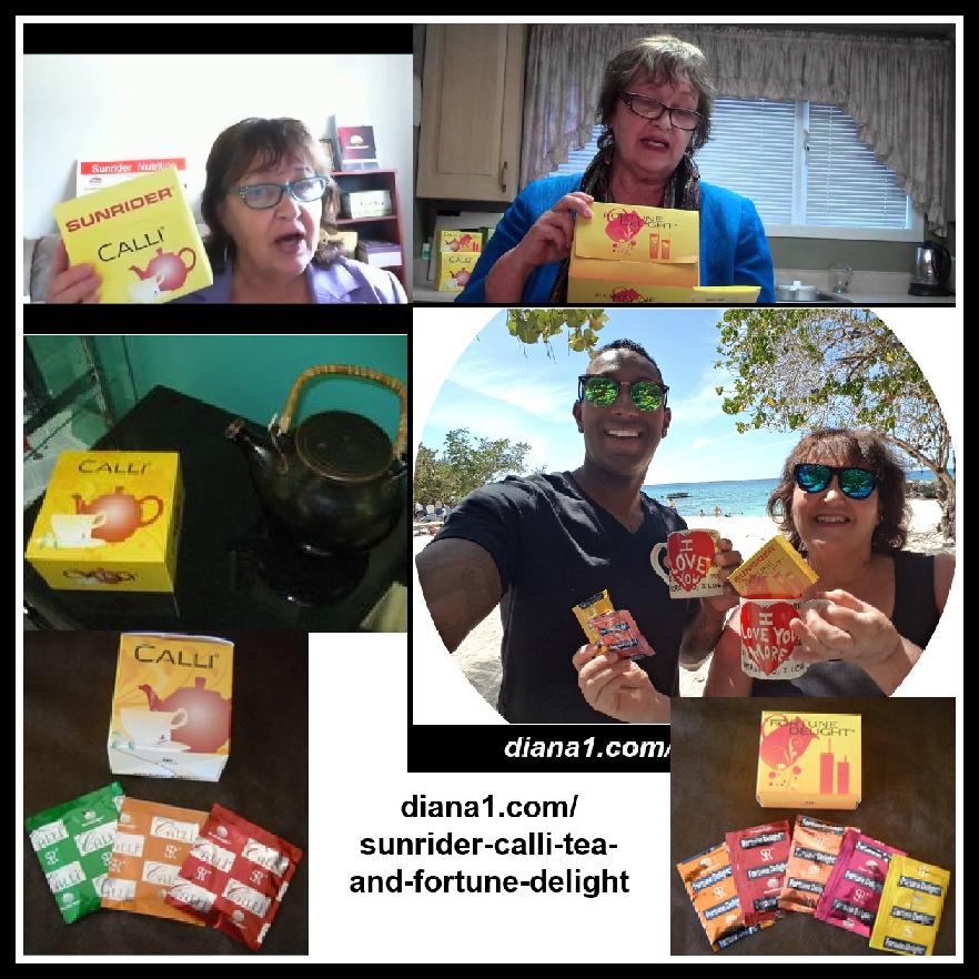 Sunrider Calli Tea and Fortune Delight