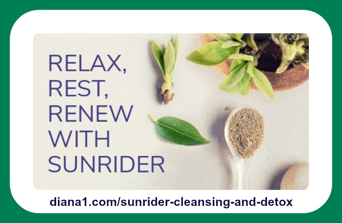 Sunrider Cleansing and Detox Diana Walker