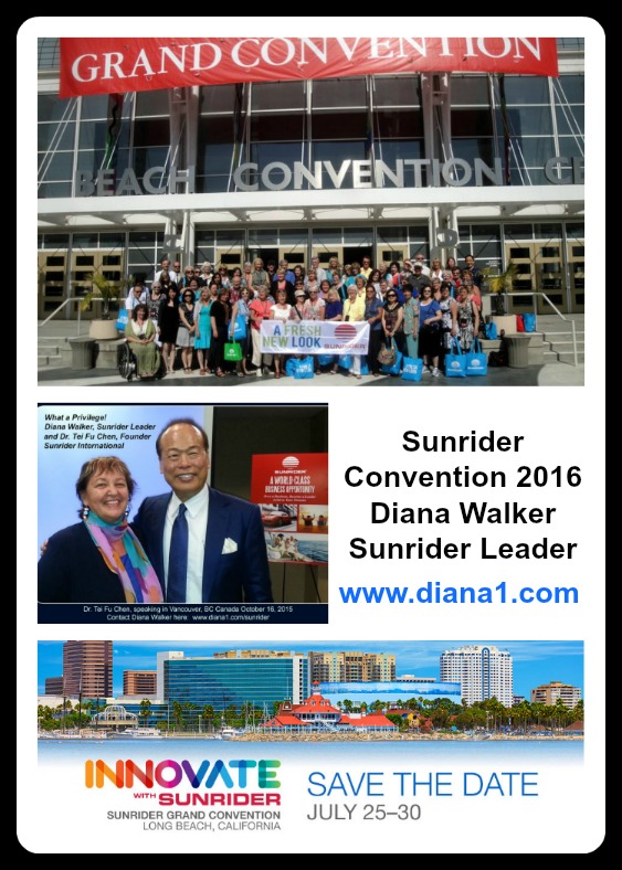 Sunrider Convention 2016 Diana Walker Leader