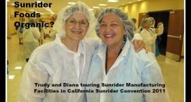 Sunrider Foods Organic Diana Walker 2011