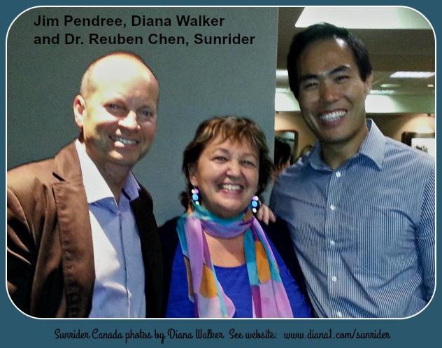 Sunrider Jim Pendree Diana Walker Dr Reuben Chen October 2015  www.diana1.com/sunrider