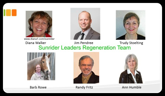 Sunrider Leaders Regeneration Team May 2015 Diana Walker