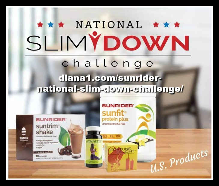 Sunrider National Slim Down Challenge USA