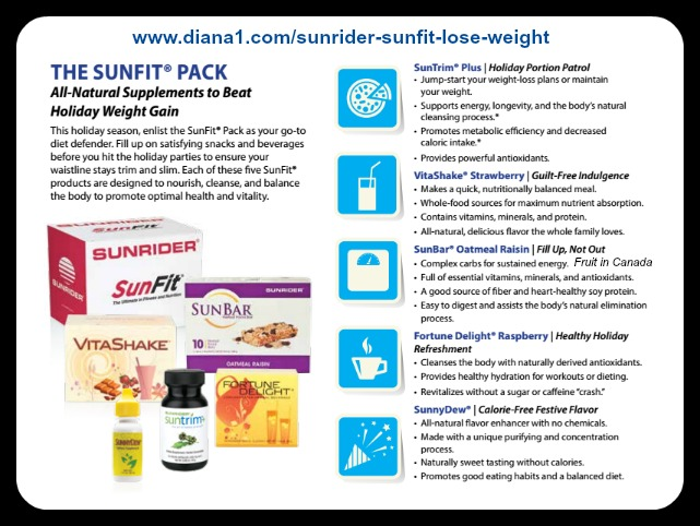 Sunrider Sunfit Lose Weight Suntrim Plus Diana Walker 2