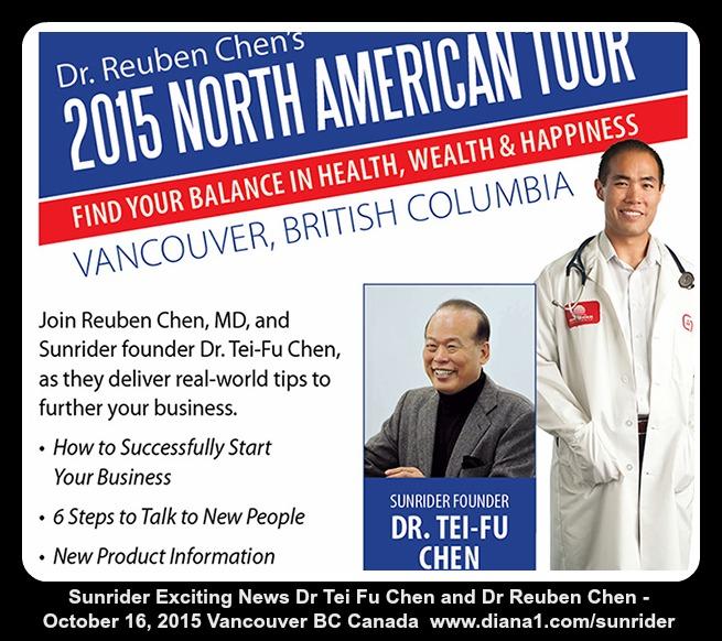 Sunrider Vancouver Canada Dr Reuben Chen Vancouver BC Canada 2015 www.diana1.com/sunrider