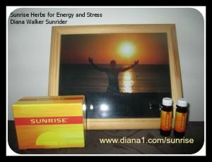 Sunrise is a Sunrider formula, helps with energy and handling  stress www.diana1.com/sunrise