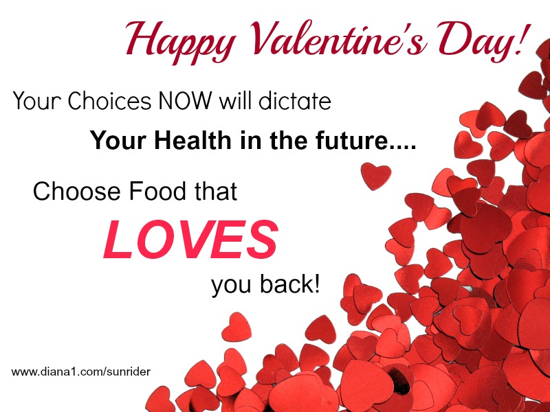 Sunrider Foods That Loves You Back Happy Valentines Day!