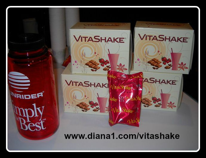 Vitashake Sunrider Canada Strawberry or Chocolate  Diana Walker  www.diana1.com/vitashake